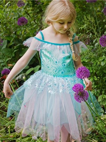 Aqua Fairy - Child Costume front