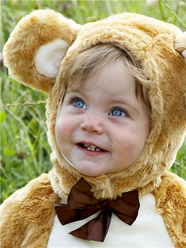 Baby Teddy Bear - Baby, Toddler & Child Costume left
