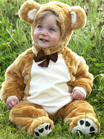 Baby Teddy Bear - Baby, Toddler & Child Costume side