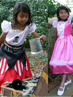 2 in 1 Princess Pirate