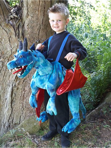 Ride on Dragon - Child Costume front