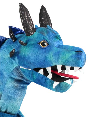 Ride on Dragon - Child Costume left