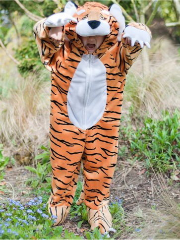 Tiger - Child Costume front