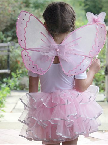 Candy Floss Fairy Set - Child Costume front