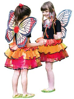 Red Admiral Fairy Set