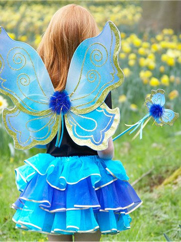 Turquoise Sparkle Fairy Set One Size Party Delights