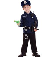 Policeman Set - Child Costume