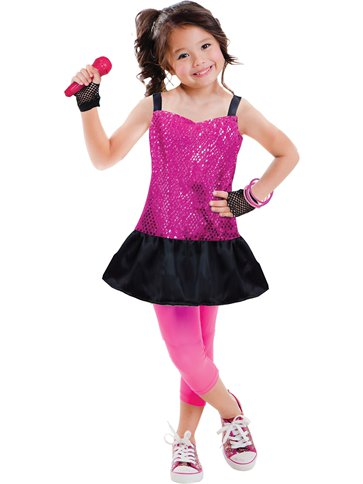 Rock Star Child Costume Party Delights