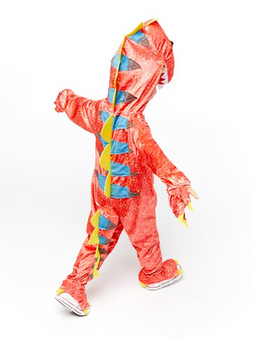 Dinomite - Child Costume back
