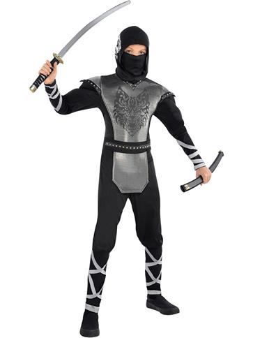 Howling Wolf Ninja - Child and Teen Costume front