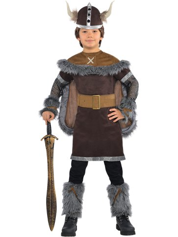 Viking Warrior - Child Costume front
