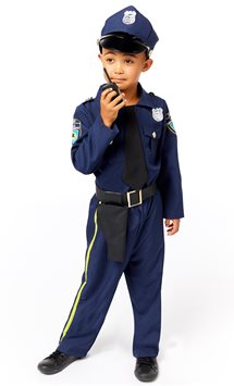 Police Officer - Child Costume