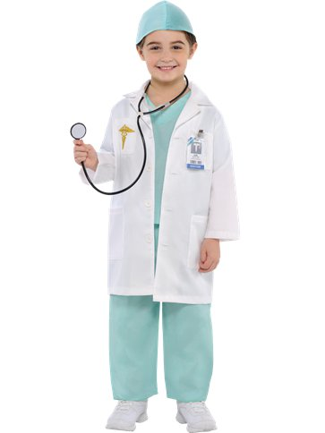 Doctor - Child Costume front