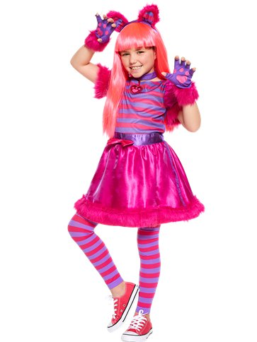 ... Cheshire Cat - Child and Teen Costume front ...  sc 1 st  Party Delights & Cheshire Cat - Child and Teen Costume | Party Delights