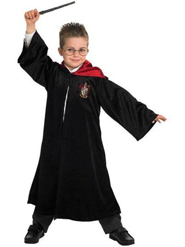 Harry Potter School Robe Deluxe - Child Costume front