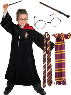 Harry Potter School Robe Deluxe Kit - Child Costume
