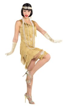 Champagne Flapper - Adult Costume