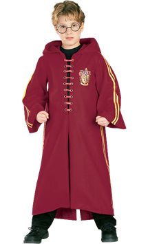 Harry Potter Quidditch Robe - Child Costume