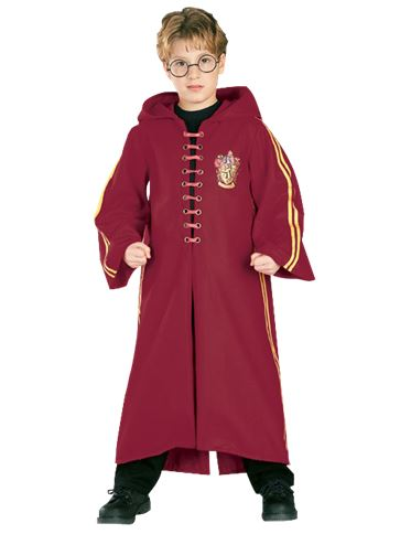 Harry Potter Quidditch Robe - Child Costume front