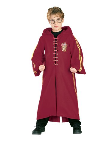 Harry Potter Quidditch Robe - Child Costume pla