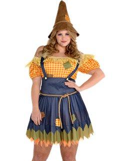 Sultry Scarecrow Plus Size
