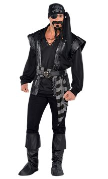 Dark Sea Scoundrel - Adult Costume