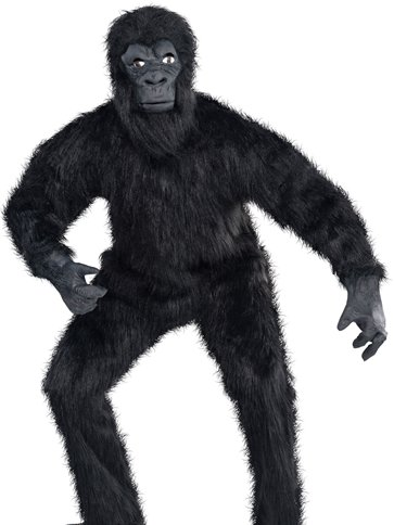 Gorilla Adult Costume Party Delights