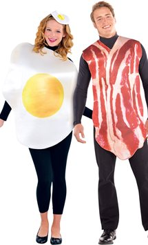 Breakfast Buddies Couple - Adult Costume