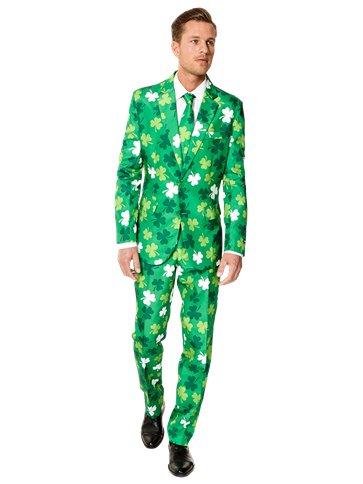 Fancy Dress Party ST PATRICK/'S Day IRISH Themed Novelty Shamrock T-Shirt TOP