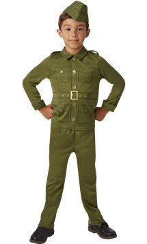 WW2 Soldier - Child Costume