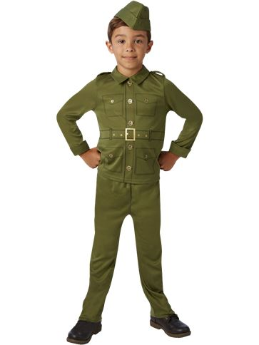 WW2 Soldier - Child Costume front