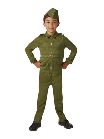 WW2 Soldier - Child Costume pla