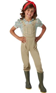 WW2 Land girl - Child Costume