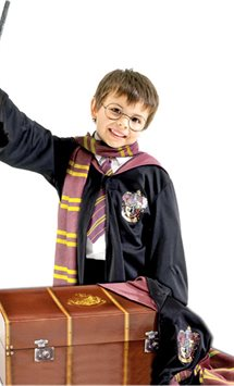 Harry Potter Costume Kit with Trunk  - Child Costume