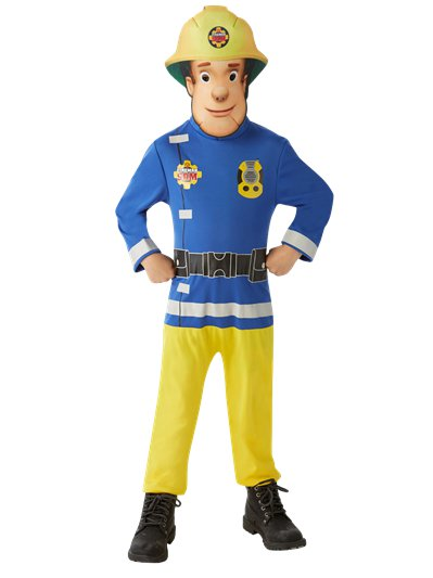 Fireman Sam Classic - Child Costume