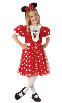 Minnie Mouse Glitz - Child costume