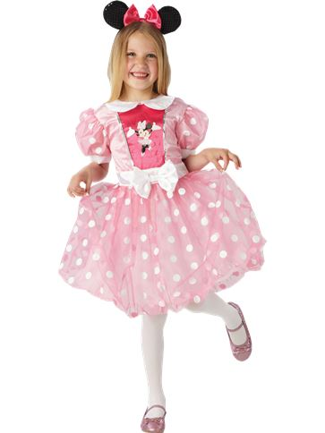 Minnie Mouse Pink Glitz - Child Costume front