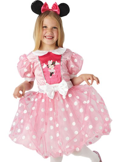 Minnie Mouse Pink Glitz - Child Costume