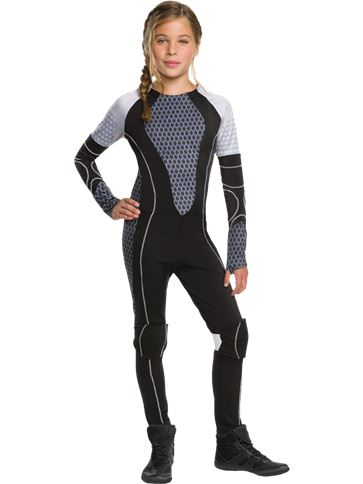 Katniss The Games - Child & Teen Costume front