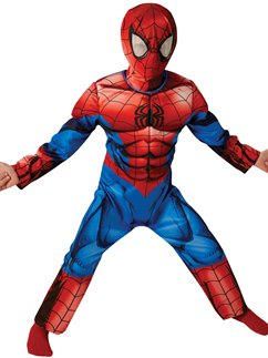 Spider-Man Deluxe Muscle Chest - Child Costume