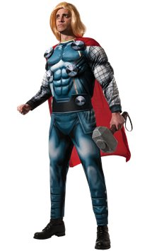 Thor Deluxe Muscle Chest - Adult Costume