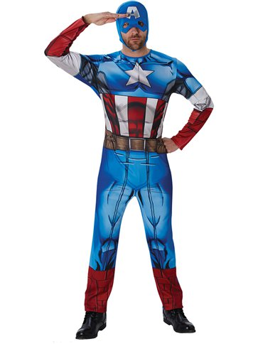 Captain America - Adult Costume front