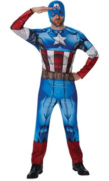 Captain America - Adult Costume
