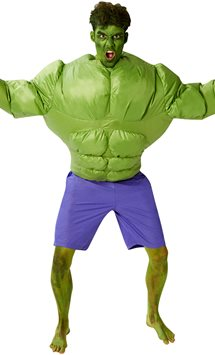 Inflatable Hulk - One Size