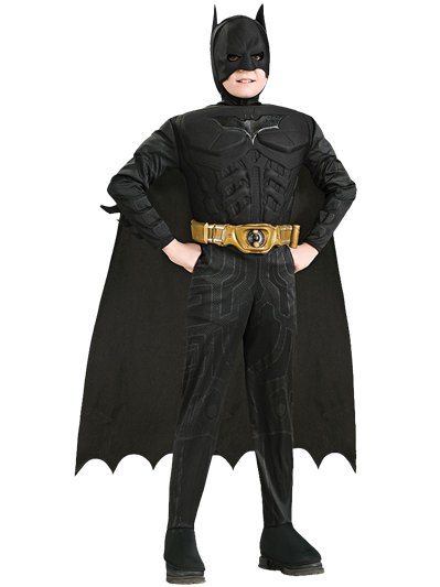 Batman Dark Knight Deluxe Muscle Chest - Child Costume