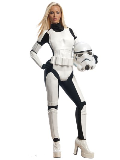 Stormtrooper Lady - Adult Costume