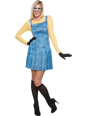 Minion Dress - Adult Costume front