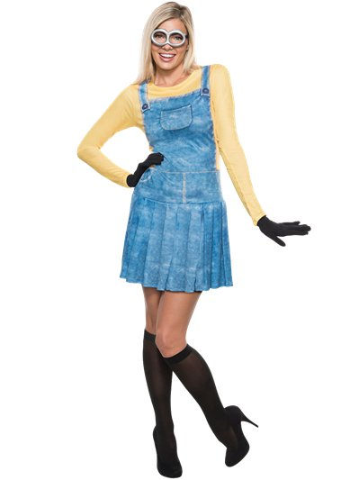 Minion Dress - Adult Costume