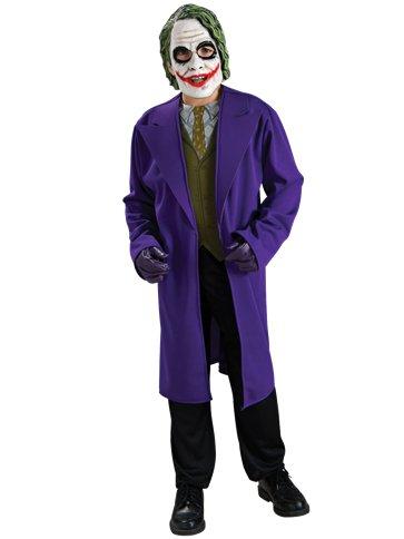 Child Joker Costume For Halloween Superhero Fancy Dress Party