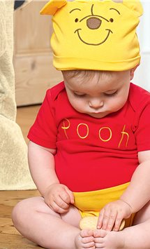 Winnie the Pooh Jersey Set - Infant Costume